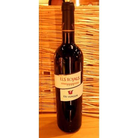 Vino tinto mallorquín Els Rojals 2005