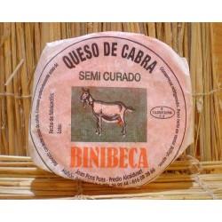 Queso de cabra Binibeca Menorca.