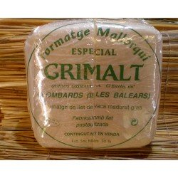 Queso de vaca mallorquín sin sal Grimalt.