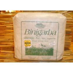 Queso semicurado Binigarba D.O. Mahón - Menorca.